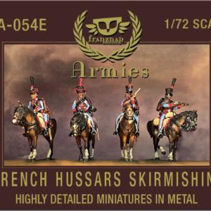 French hussars, skirmishing