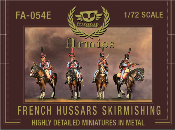 French hussars, skirmishing